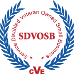 CVE Service Disabled Veteran Owned Small Business Logo