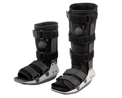 J Walker Plus Pneumatic CAM Walking Splint Mid Calf and Tall Versions