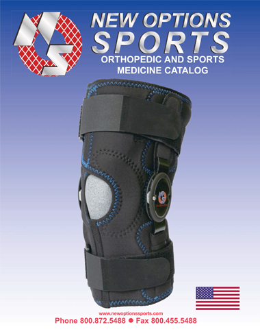 Catalog Cover New Options Sports Orthopedic and Sports Medicine