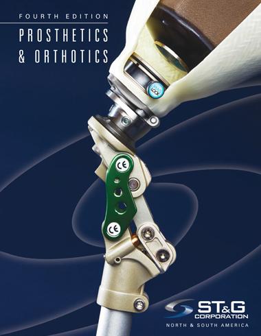 Catalog Cover ST&G Corp Prosthetics and Orthotics