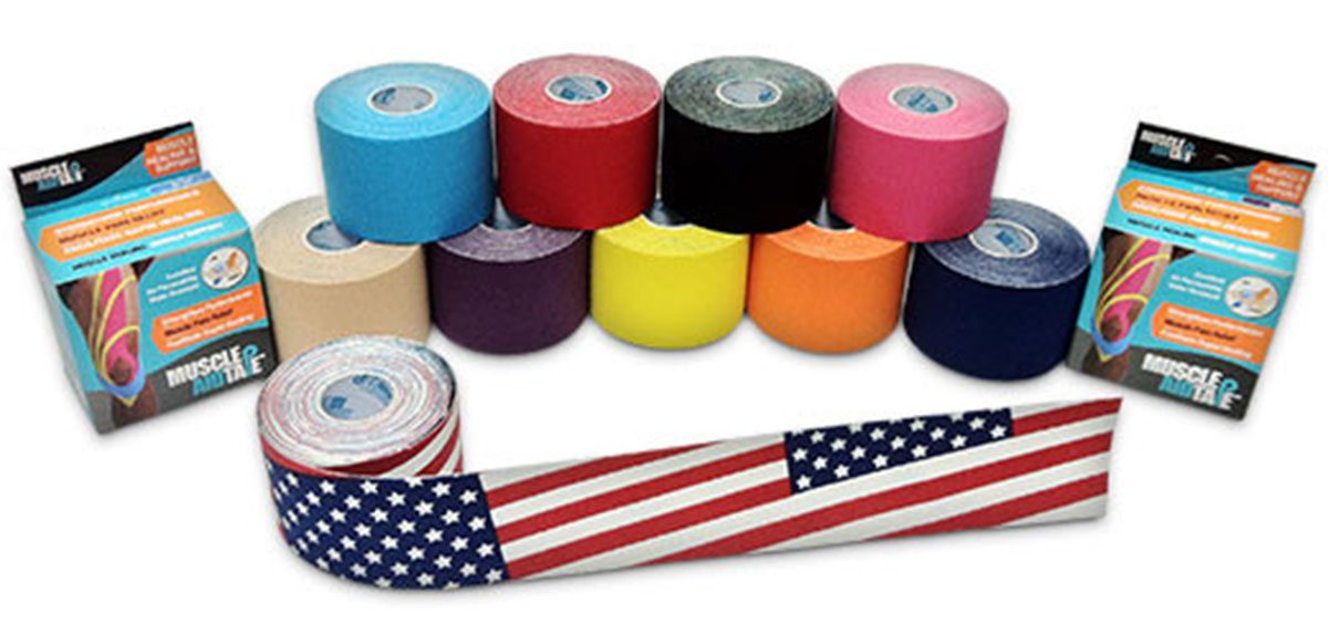 MuscleAidTape product colors kinesiology tape