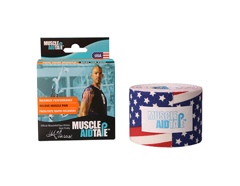 MuscleAidTape Kinesiology Tape - color USA