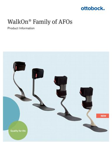 Ottobock WalkOn Catalog Cover
