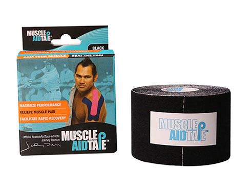 MuscleAidTape Kinesiology Tape - color Black