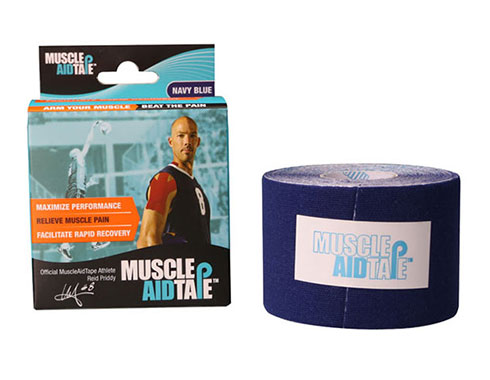 MuscleAidTape Kinesiology Tape - color Navy Blue