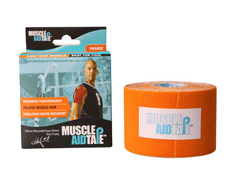 MuscleAidTape Kinesiology Tape - color Orange