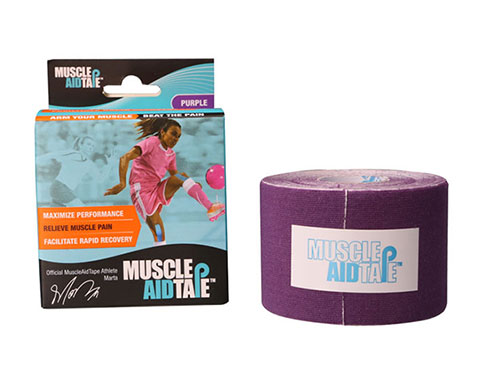 MuscleAidTape Kinesiology Tape - color Purple
