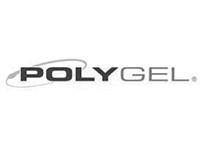 PolyGel logo b&w